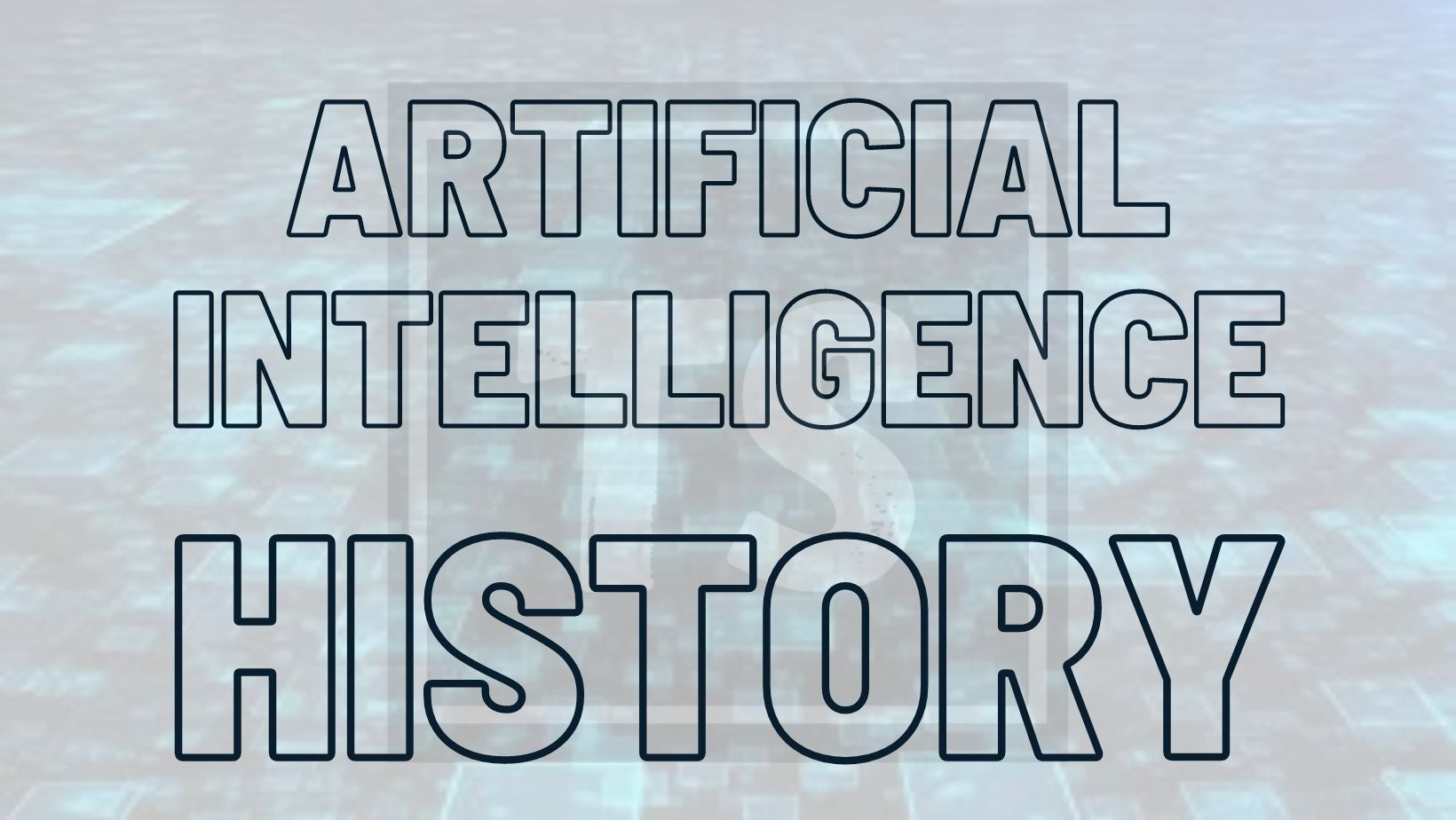 Let's dive into the history of Artificial Intelligence…